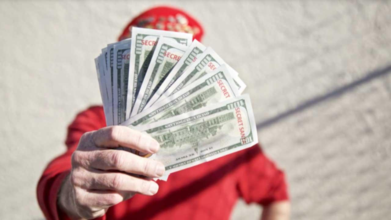 Secret Santa cash