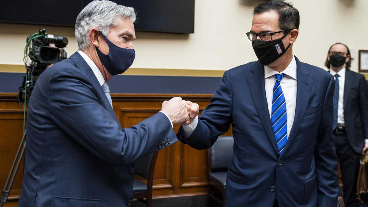 Fed & Treasury Urge Congress To Act Now On Virus Relief Funds