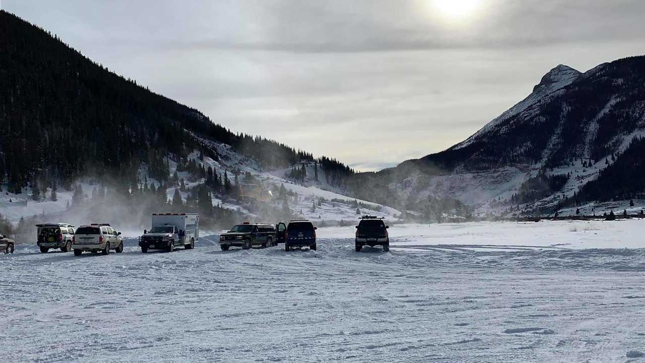 Warning About 'Unusual Conditions' Issued After 3 Killed In Colorado Avalanches