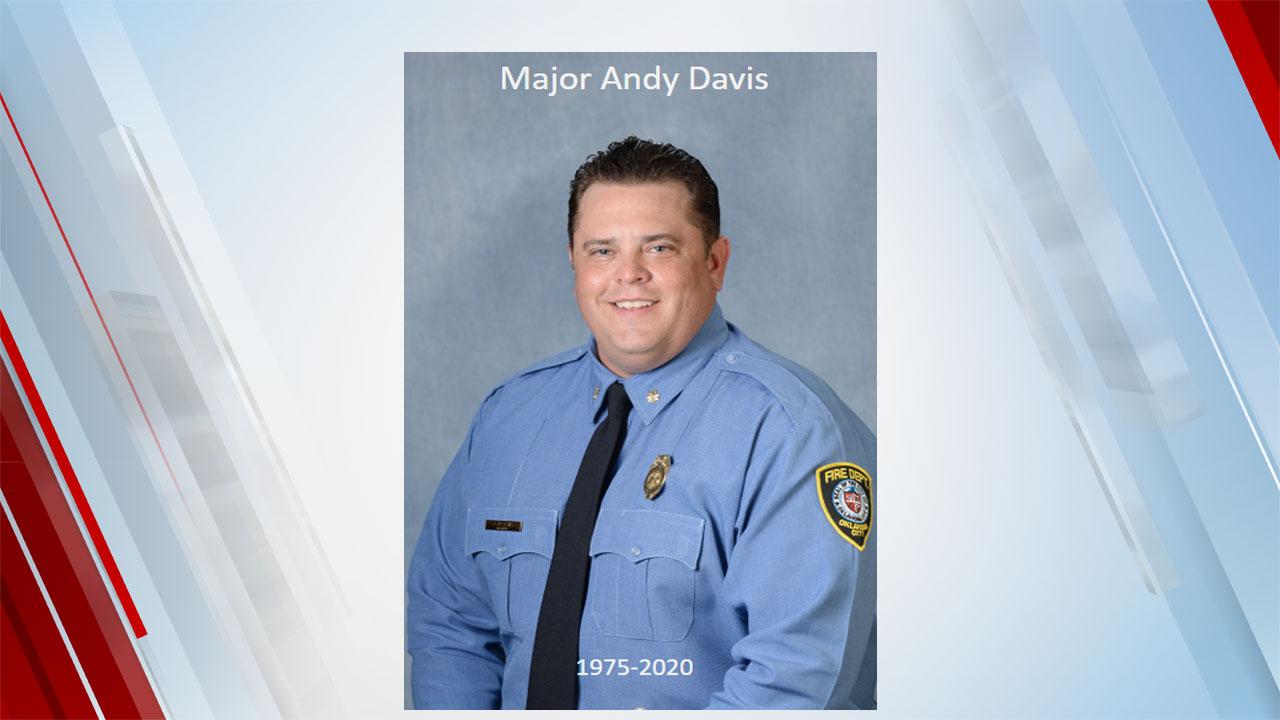 OKCFD Firefighter Dies Of COVID-19 Dec. 24, 2020