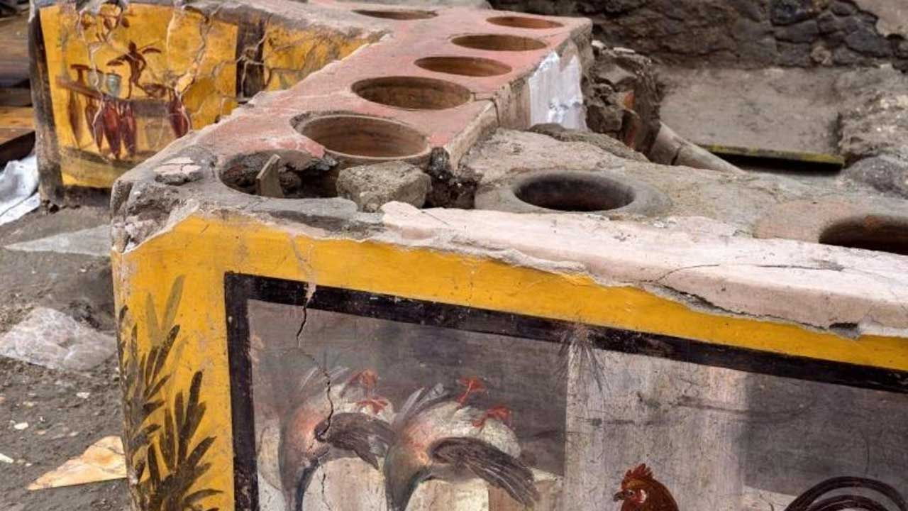 Archaeologists Unearth Well-Preserved Ancient 'Snack Bar' In Pompeii Ruins