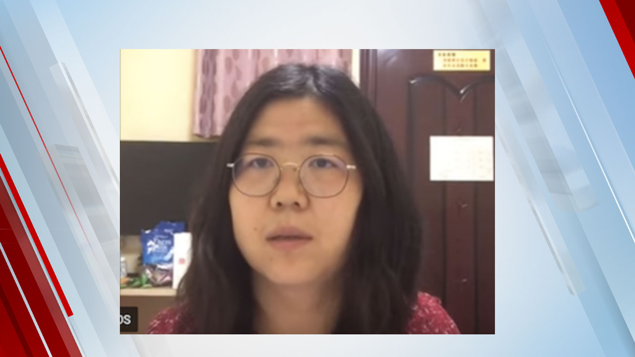 Chinese Citizen Journalist Sentenced For Reporting Early On COVID In Wuhan