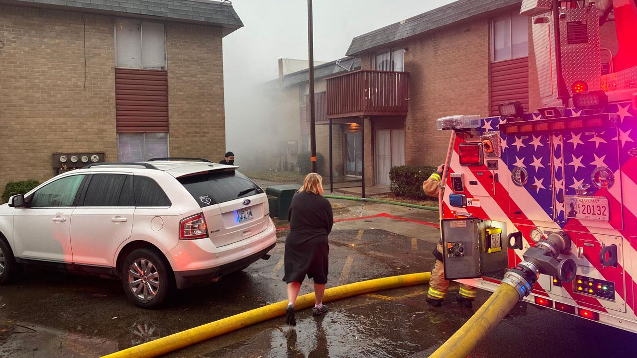NW OKC Apartment Fire Dec. 3, 2020