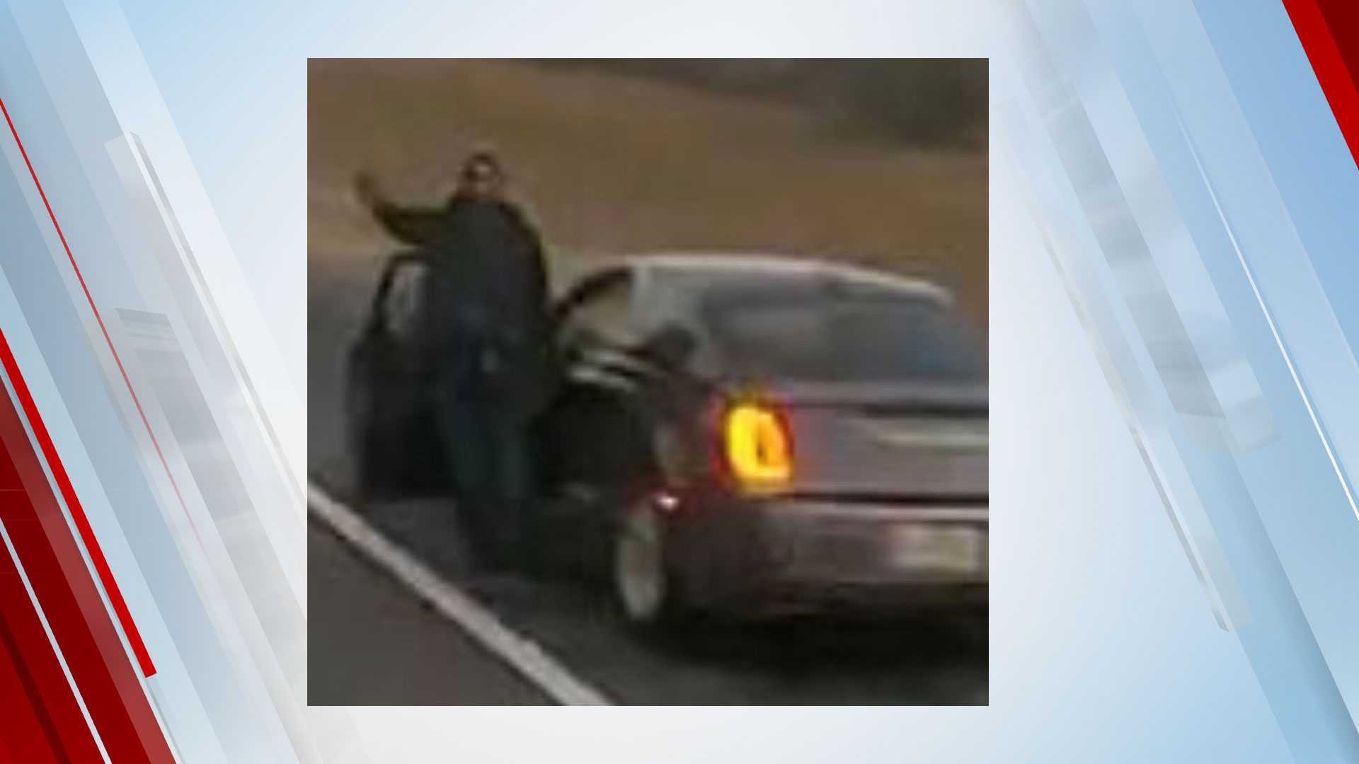 Police Search For Suspect They Say Fired Shots At Semi-Trucks On I-35