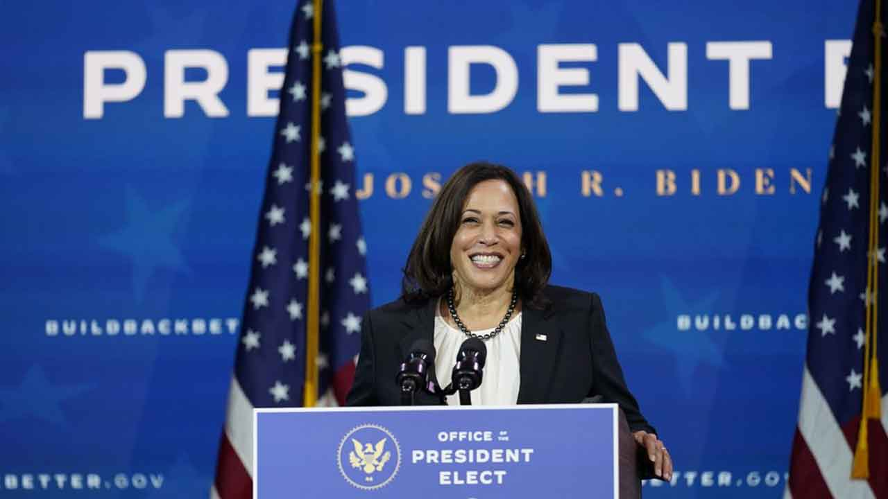 VP-elect Harris Makes History With All-Female Senior Staff