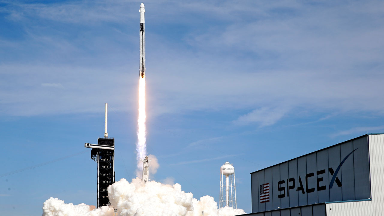 SpaceX Launches Next-Generation Dragon Cargo Ship To Space Station