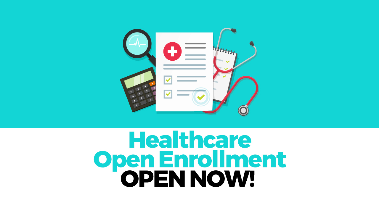 Healthcare Open Enrollment Ends Dec 15