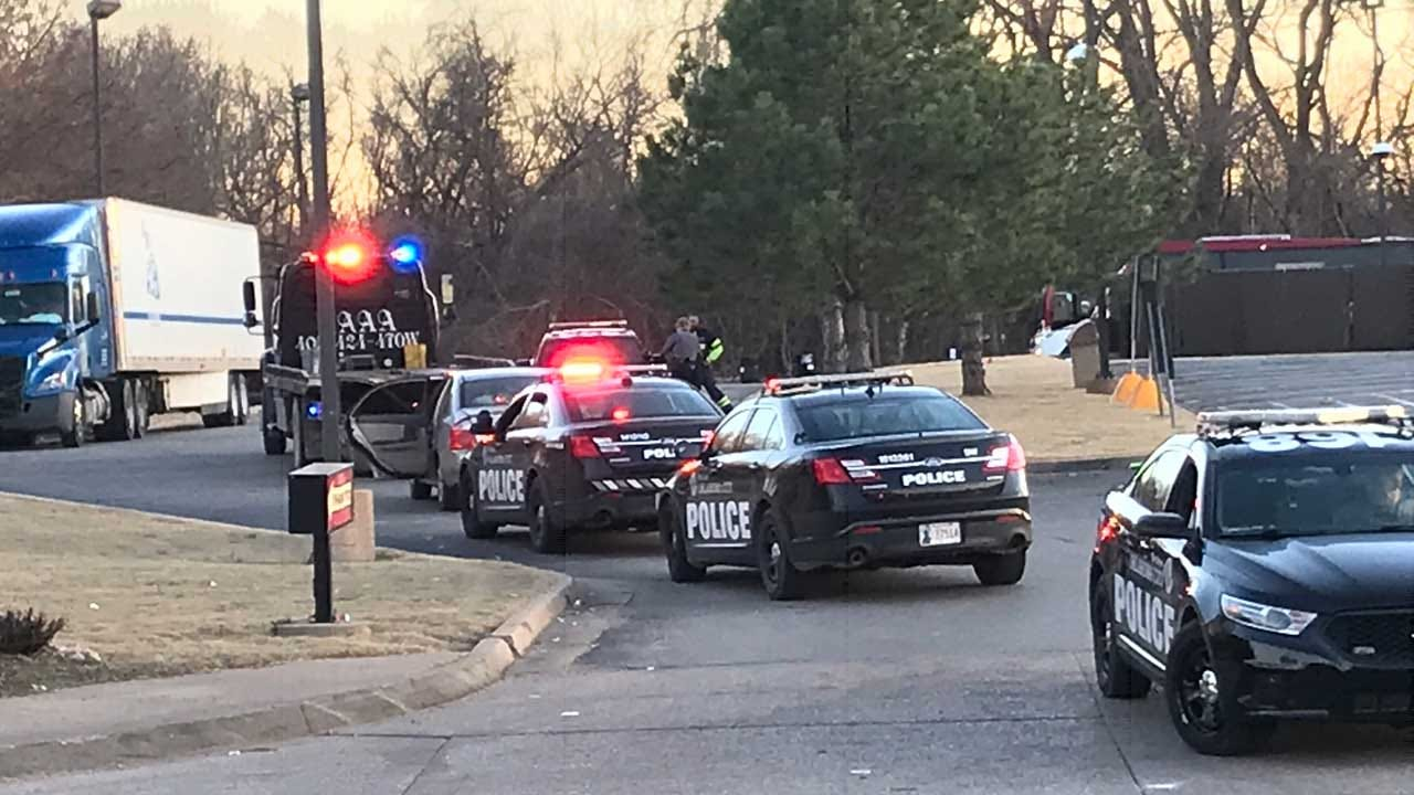 Police Chase Ends In Arrest In NE OKC