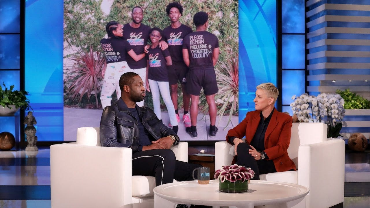 Dwyane Wade Shares Touching Moment His Child Zaya Came Out As Transgender