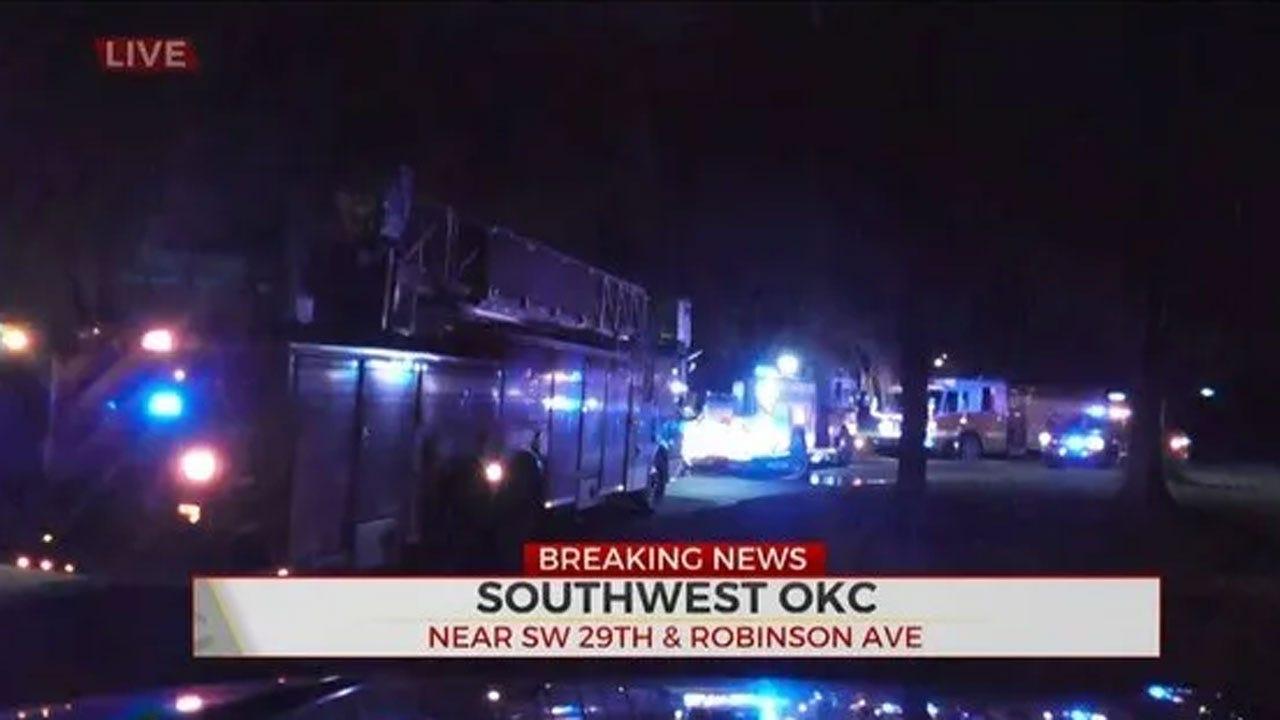 Firefighters Knock Down House Fire In SW OKC