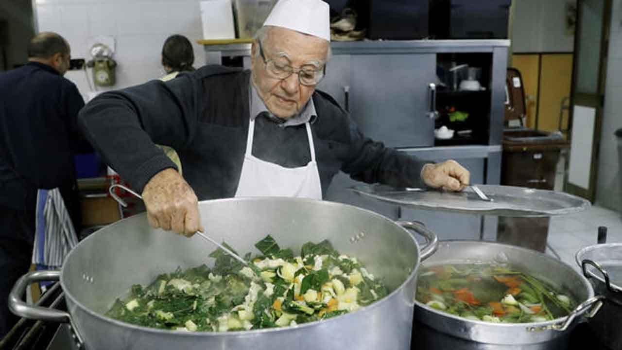 90-Year-Old 'Chef Of The Poor' Has Cooked Thousands Of Meals For The Homeless