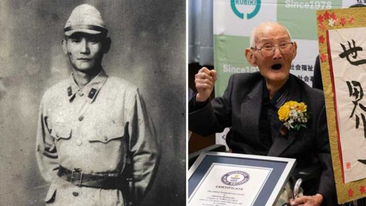 Japanese Man Who Believes In Smiling Is World's Oldest