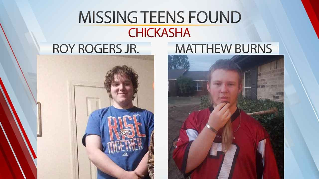 2 Missing Chickasha Teens With Autism Found Safe, Family Says