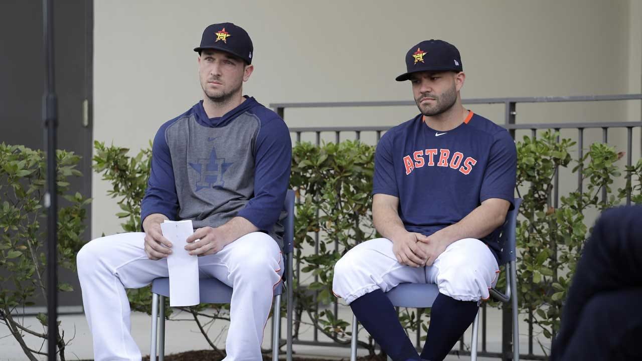 Astros' Bregman, Altuve Apologize For Sign-Stealing Scheme