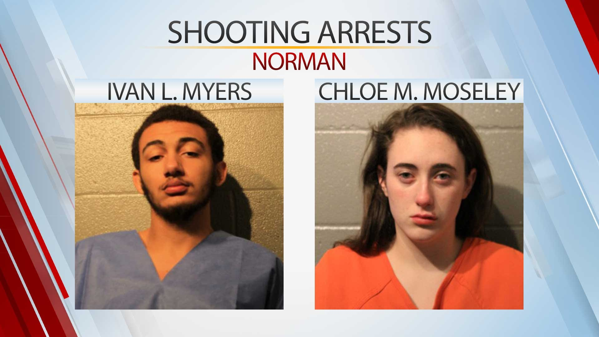 Norman Police ID 2 Arrested In Connection With Apartment Shooting