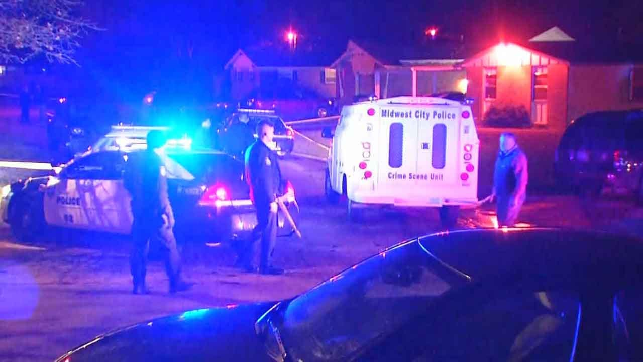Police Identify Midwest City Man Shot To Death In His Front Yard