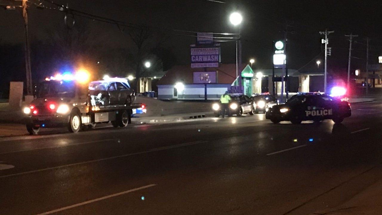 Police Investigate Cause Of Rollover Crash In SW OKC