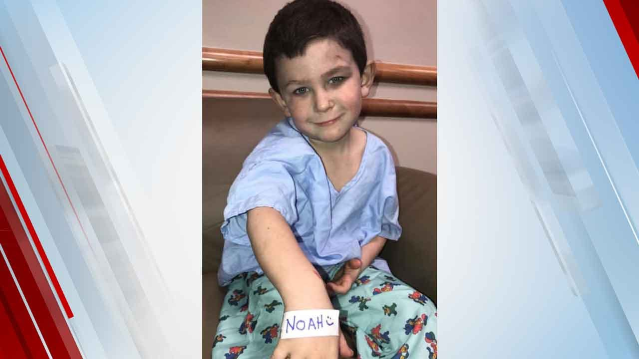 5-Year-Old Boy Pulls Sister, Dog Out Of Window During A House Fire, Saving Their Lives