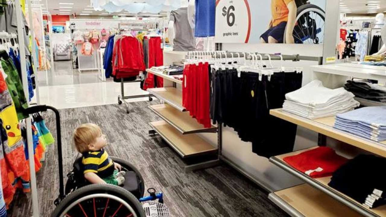 Boy In Wheelchair 'Stopped Dead In His Tracks' When He Saw A Target Ad Featuring A Child Just Like Himself
