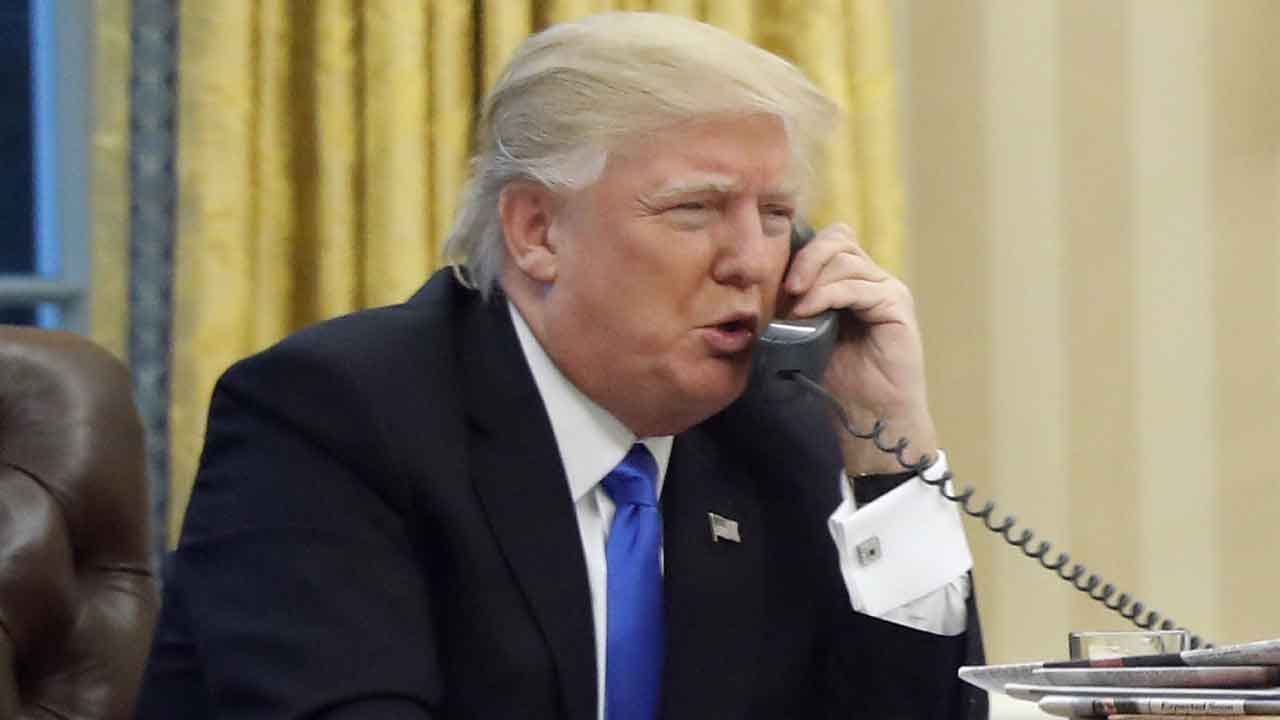 Trump Says He May Stop Allowing Top Officials To Listen To His Calls With Foreign Leaders