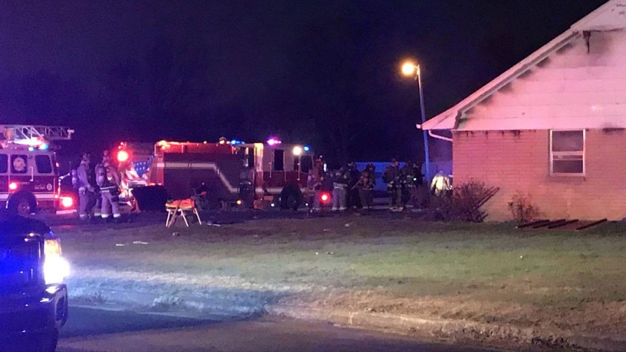 Firefighters Battle House Fire In SW OKC