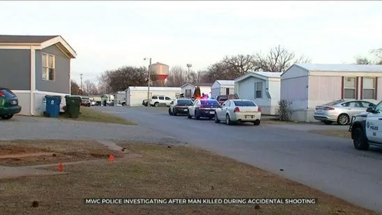 Victim Identified In Accidental Shooting At MWC Trailer Park
