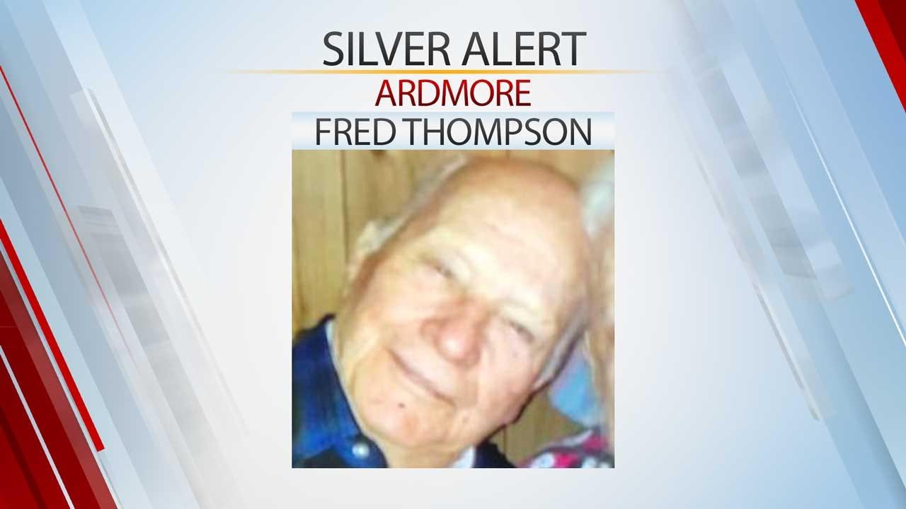 Ardmore Man Found, Silver Alert Canceled