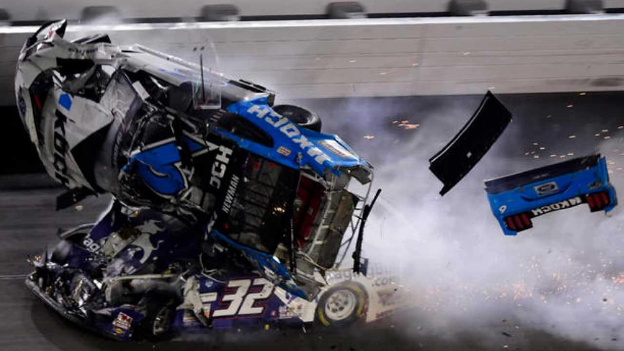 Ryan Newman Hospitalized After Terrifying Crash On Final Lap Of Daytona 500