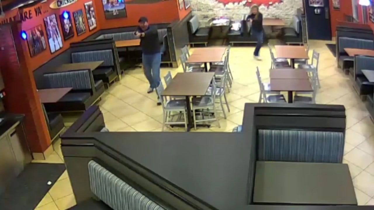 Chicken Joint Robbery Thwarted By Couple Who Just Happened To Be Off-Duty Cops