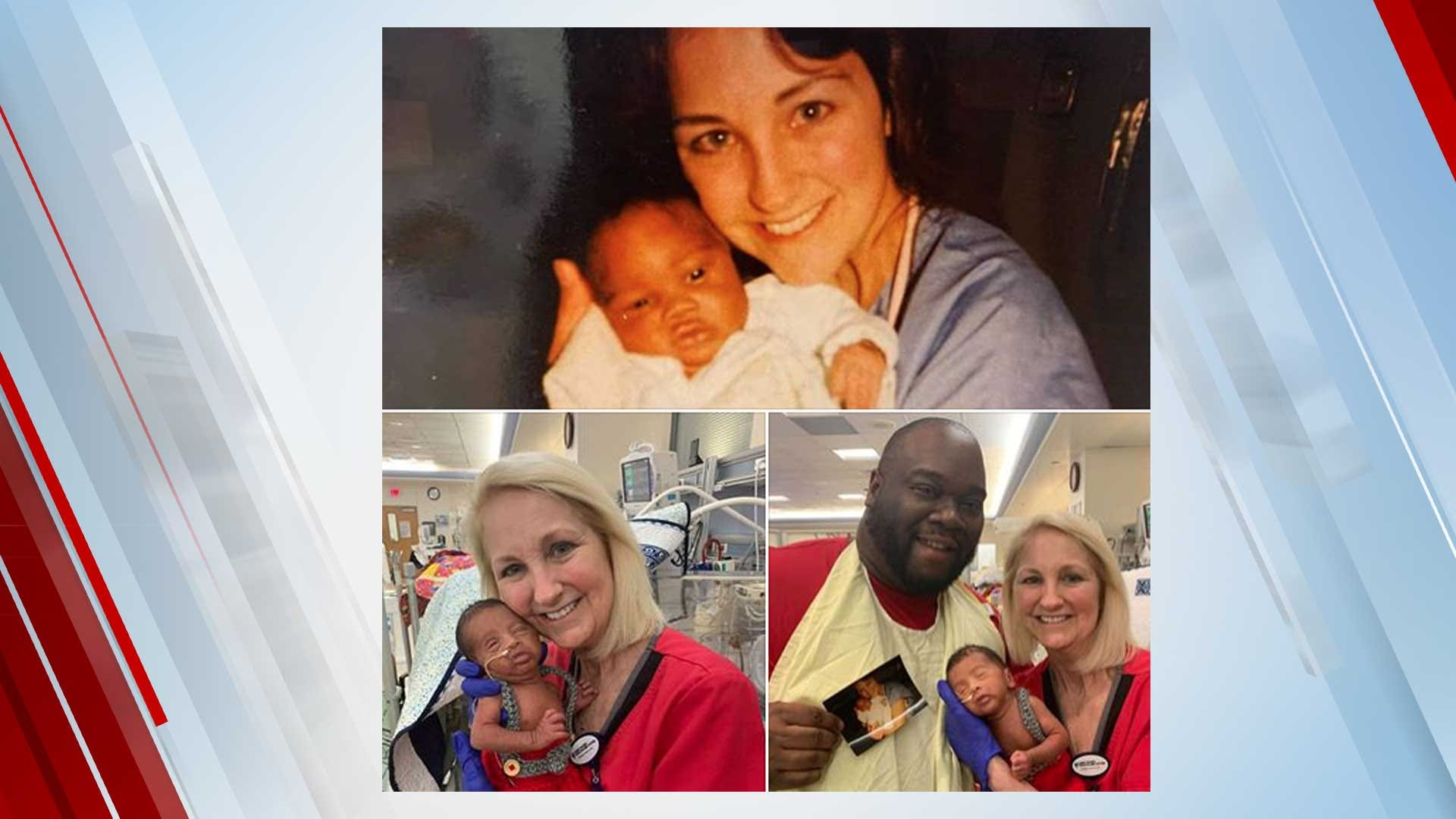 NICU Nurse Takes Care Of Father, Baby 34 Years Apart
