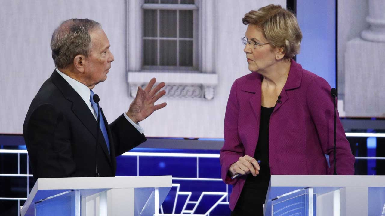 Knives Out For Bloomberg In Early Minutes Of Nevada Debates