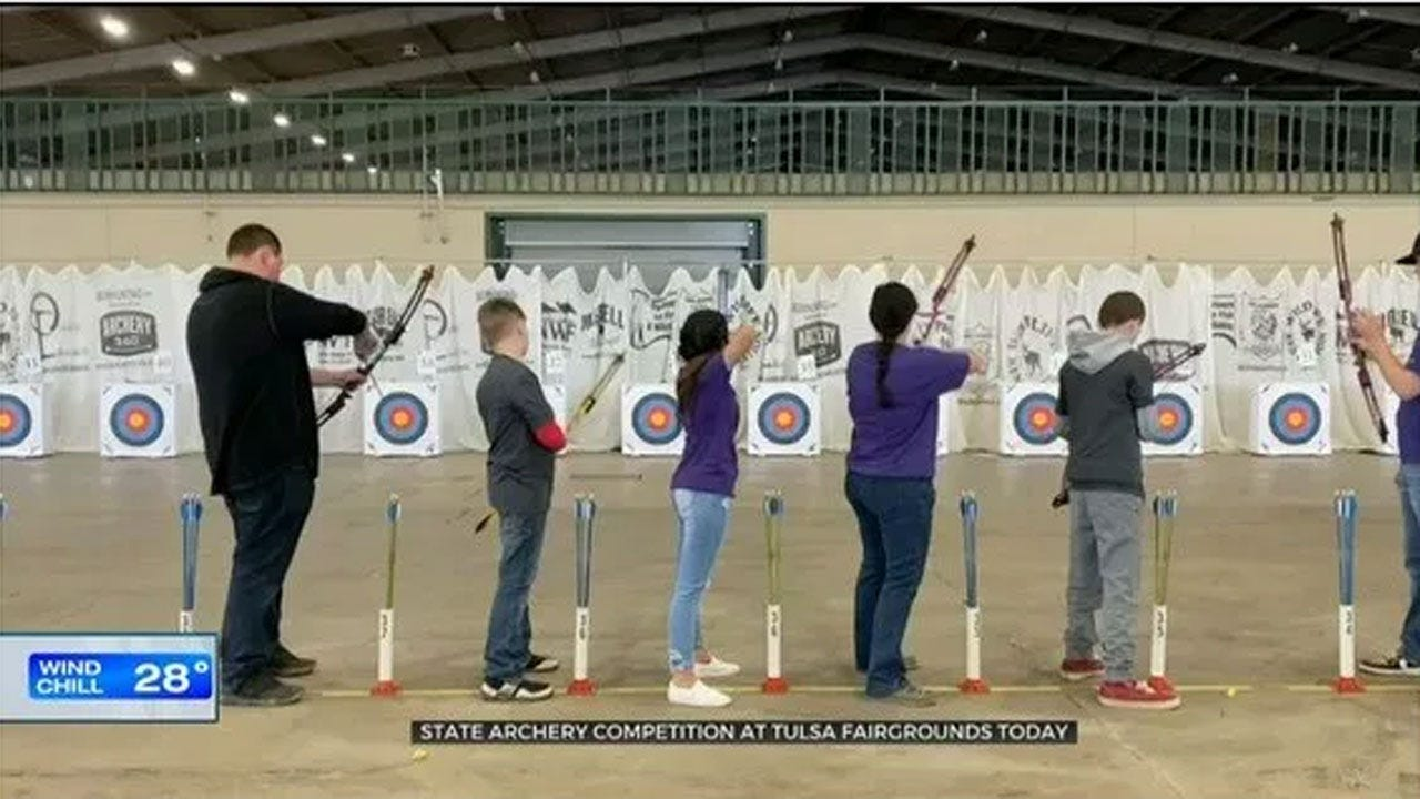 New 'Varsity Archery' Program Brings New Challenge to Oklahoma Students
