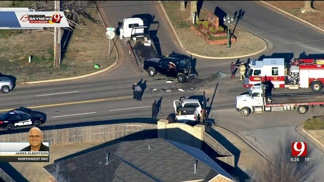 2 People Critically Injured In SW OKC Crash