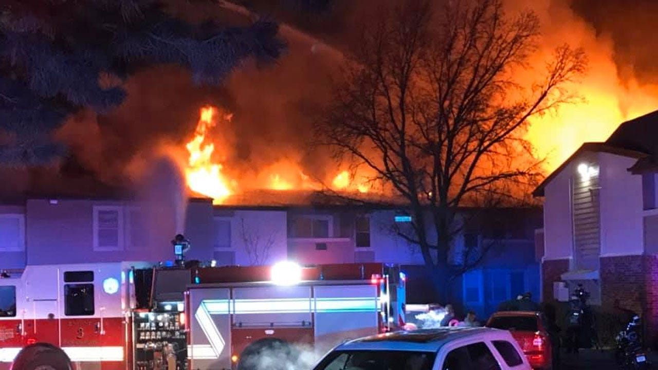 Several Units Destroyed In Early-Morning Fire At NW OKC Apartment Complex