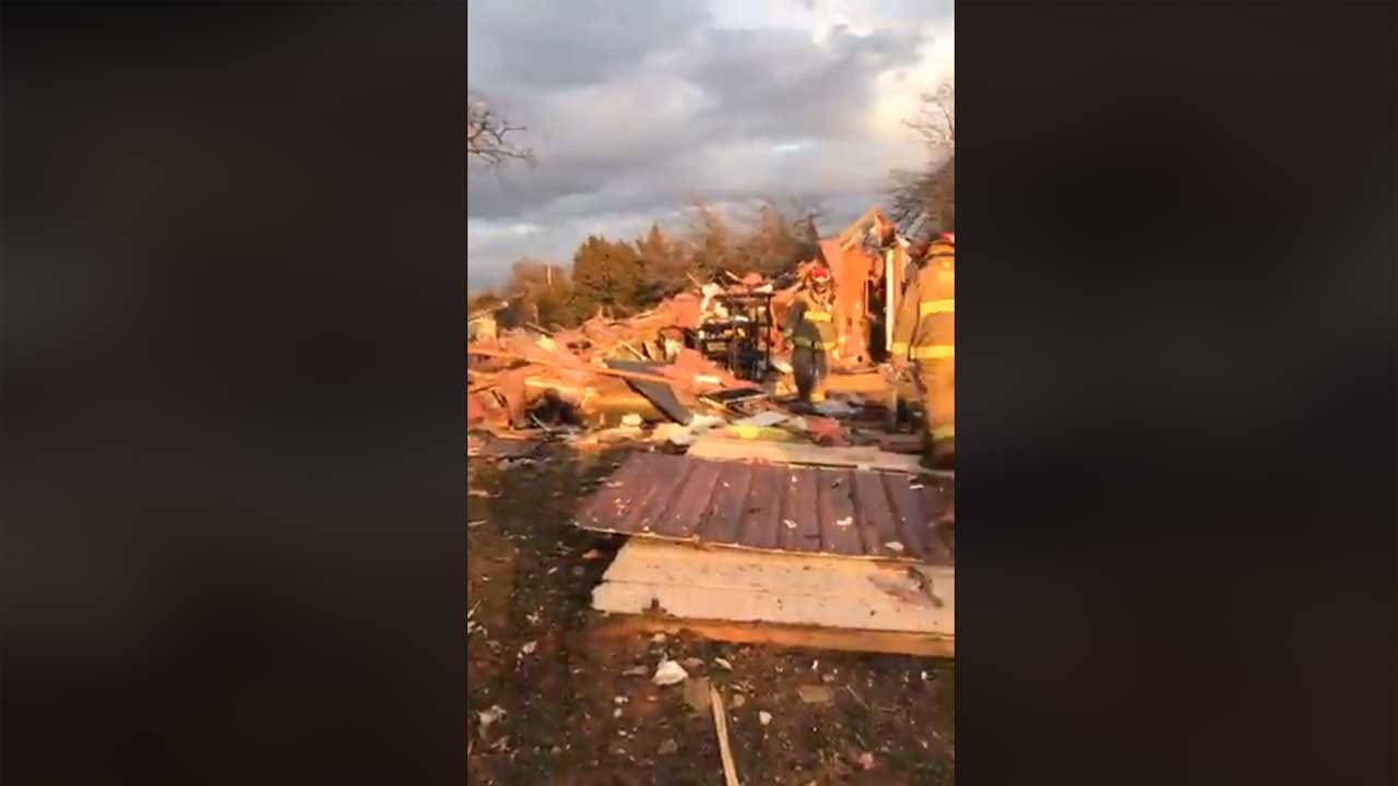 One Injury Reported In Grady County House Explosion