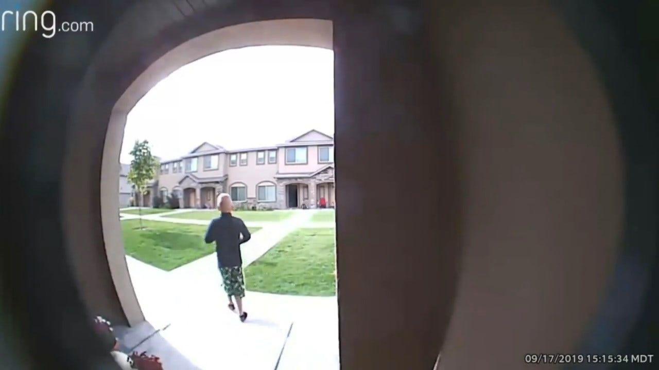 Doorbell Camera Video Shows Last Known Footage Of Missing Idaho Boy