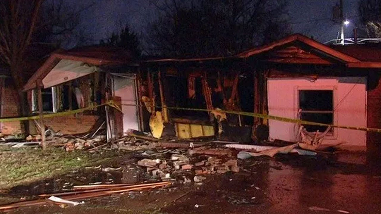 MWC Fire Department Investigating Cause Of Home Explosion