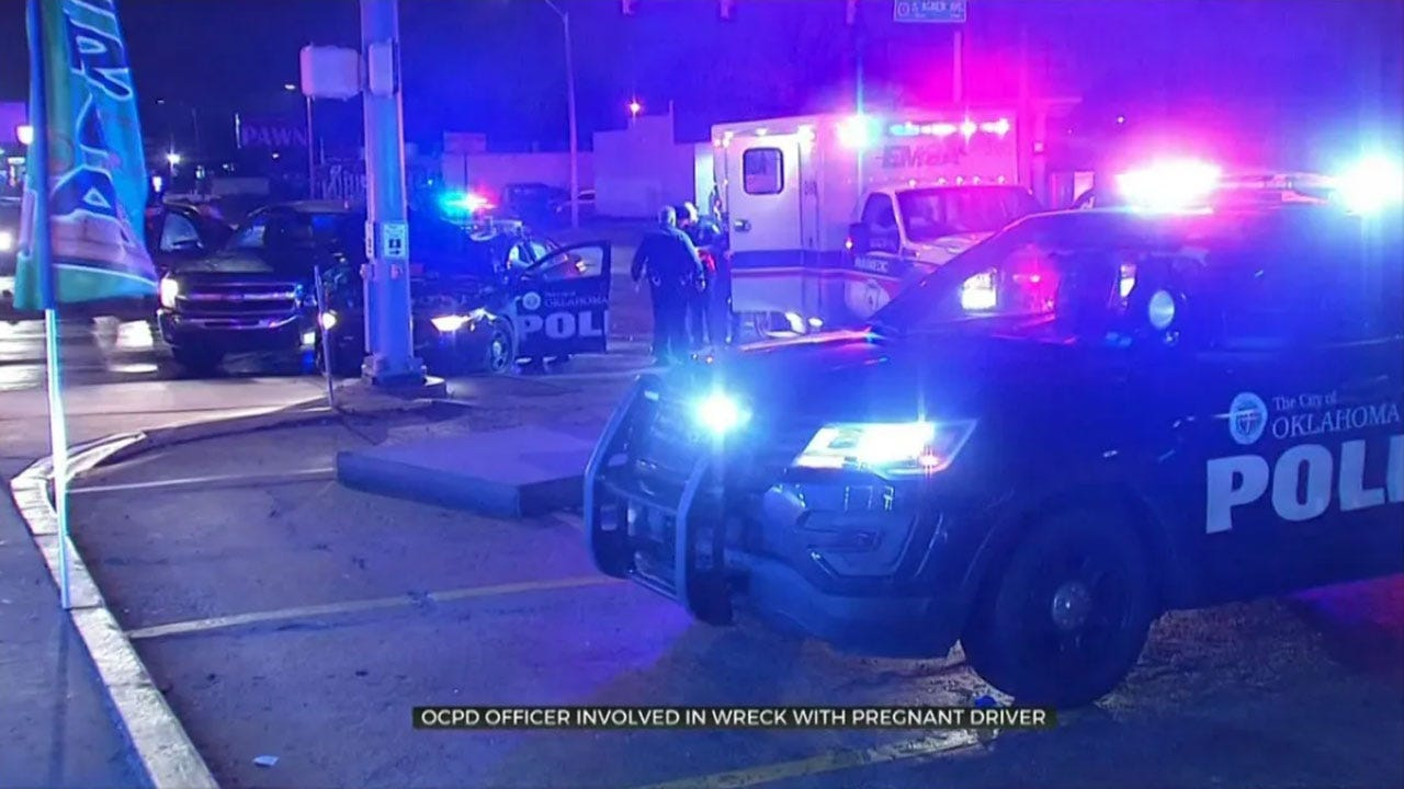 OCPD Officer Involved In Wreck With Pregnant Driver