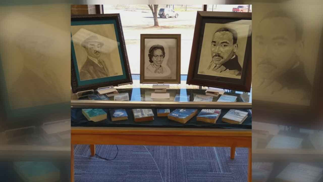 Local Artist Gets Recognition At Ralph Ellison Library