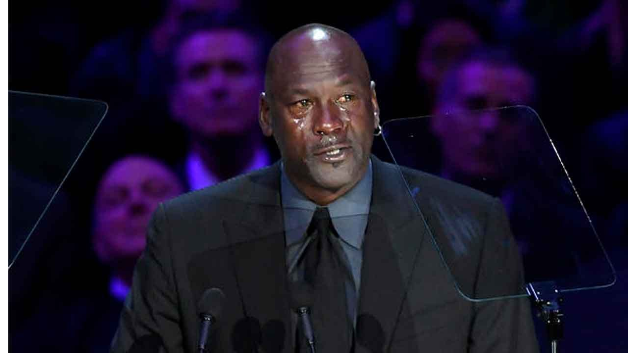 Michael Jordan Delivers Emotional Tribute To 'Little Brother' Kobe Bryant During Memorial