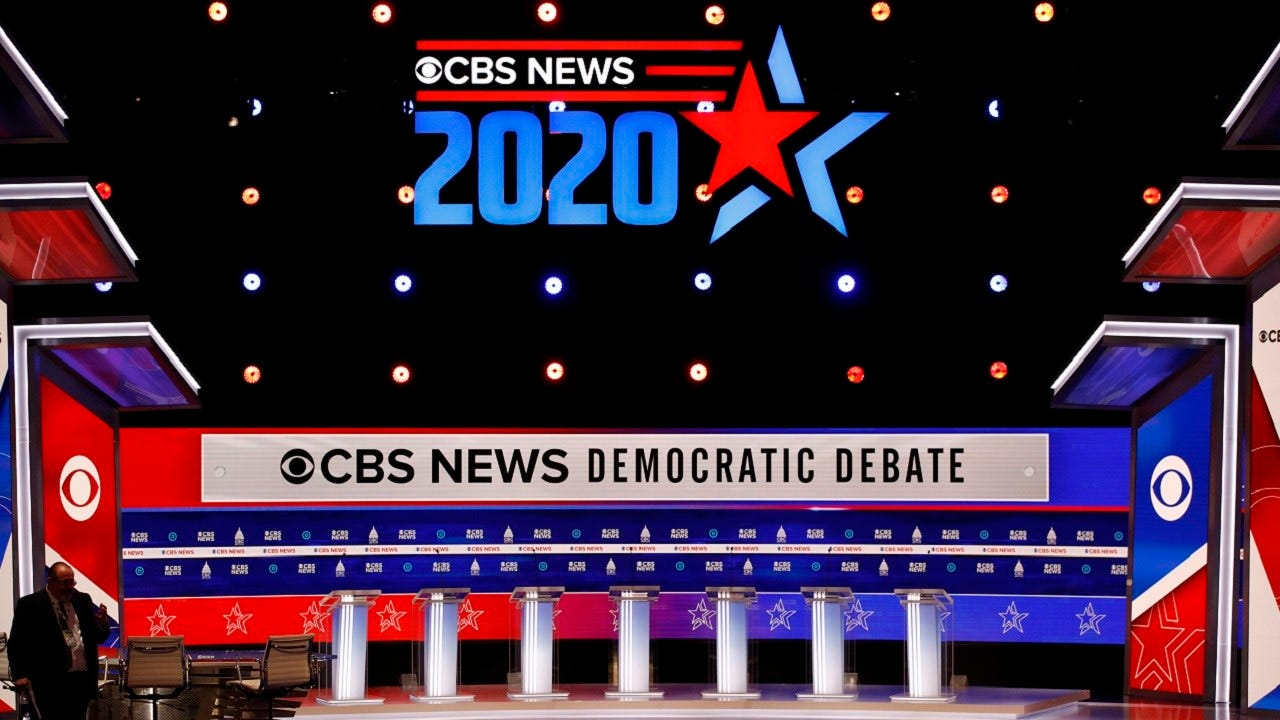 WATCH: Democratic Presidential Debate From 7-9 P.M.