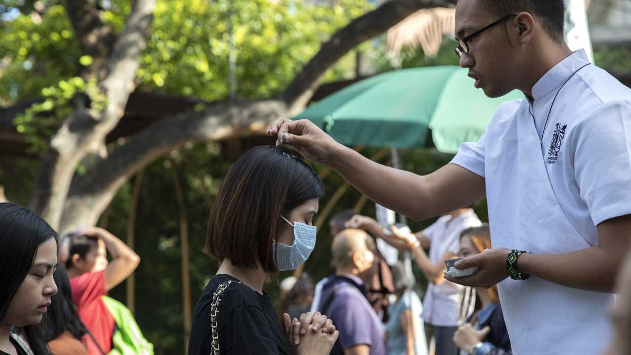 Caution, Cancellations Mark Ash Wednesday In Time Of Virus