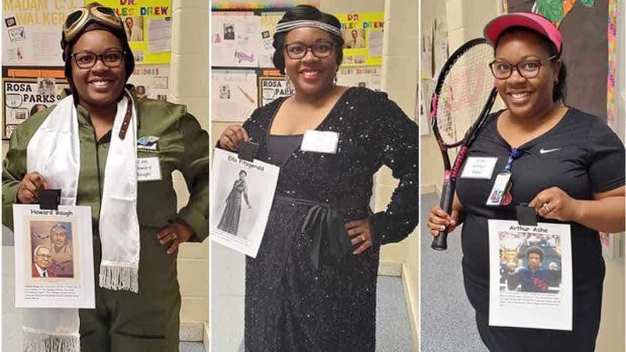 First Grade Teacher Dresses Up As A Different Black Trailblazer Every Day Of Black History Month