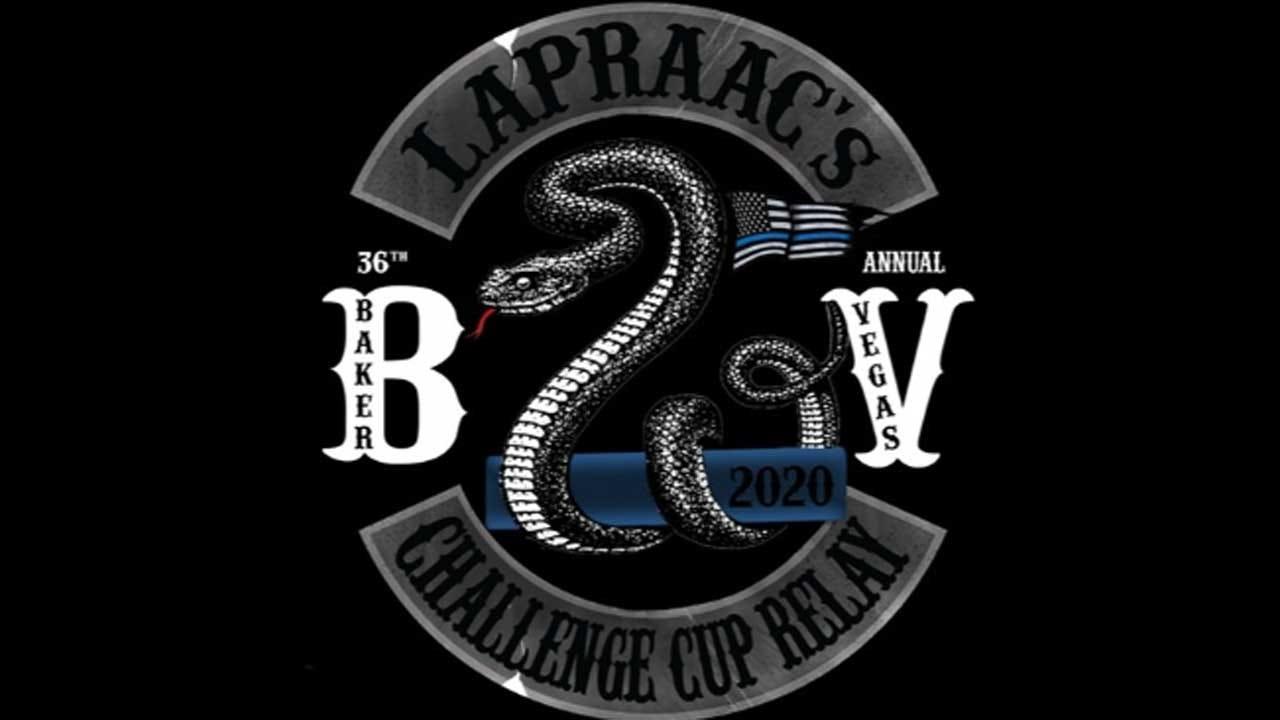 Police Run Team Raises Money For Baker To Vegas Challenge Cup Relay Race