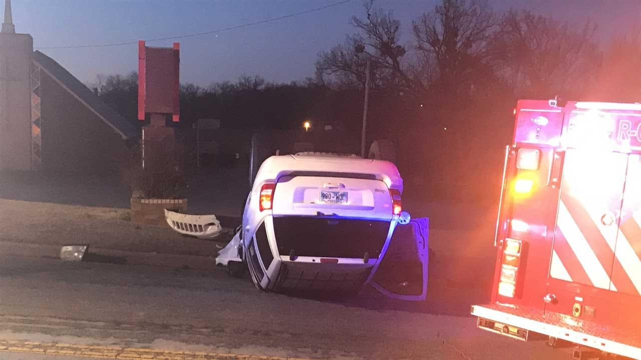 Rollover Accident Reported In NE OKC