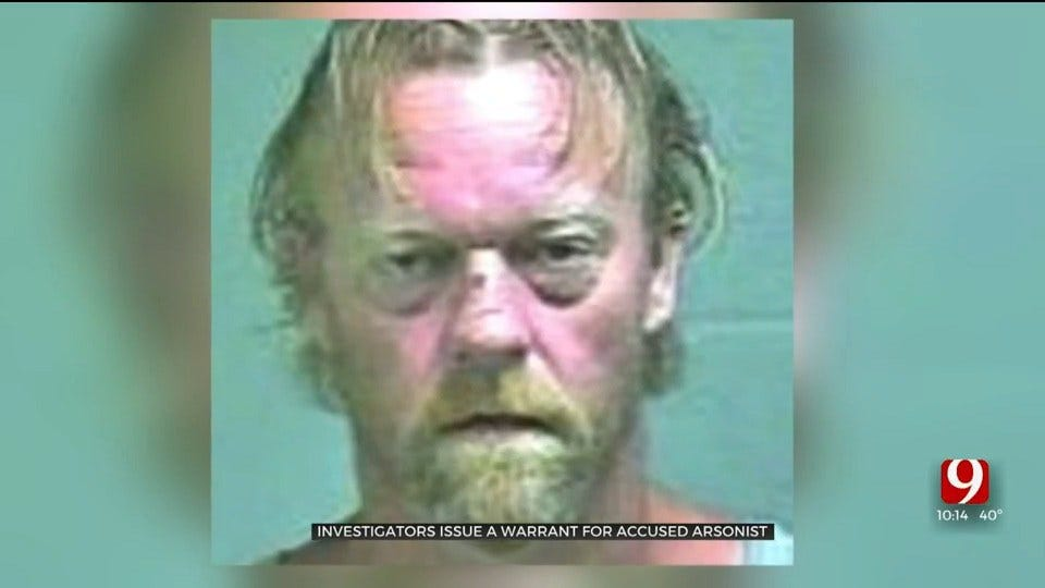 Arrest Warrant Issued For Accused Oklahoma City Arsonist