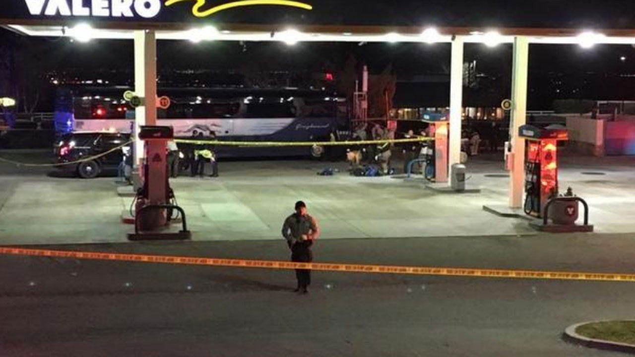 Woman Killed In Shooting On Greyhound Bus In California