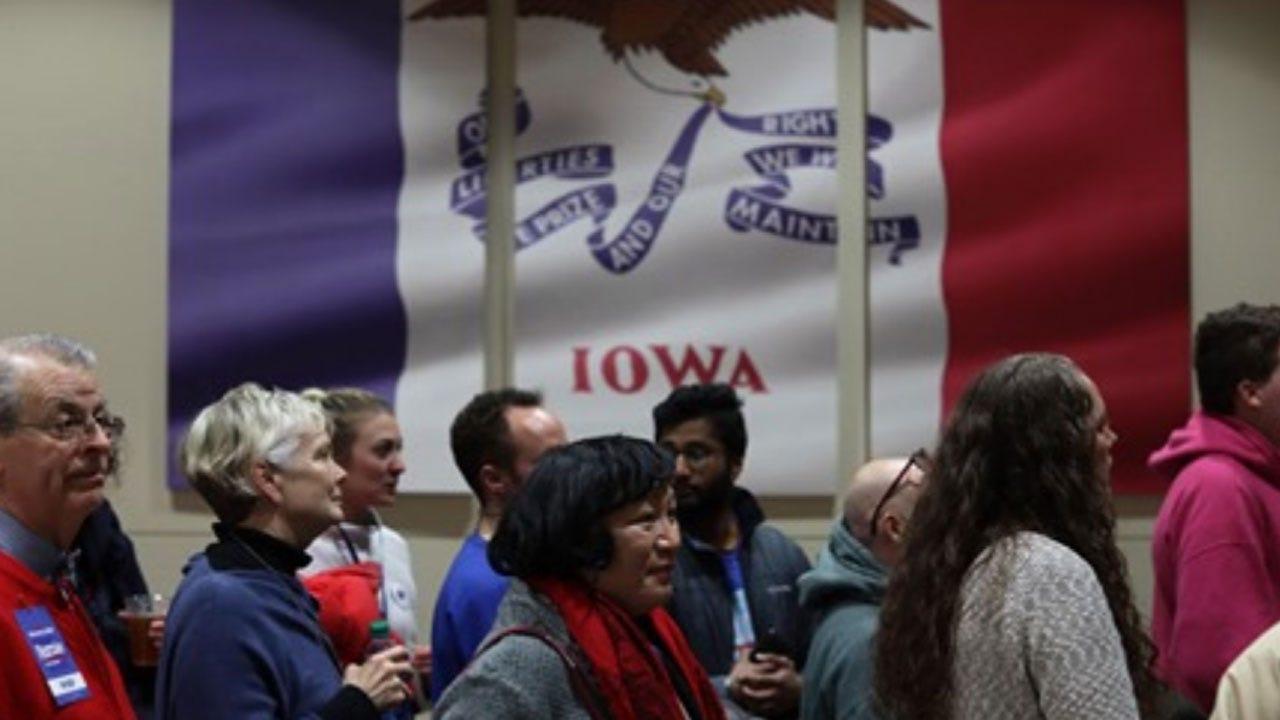 Chaos Reigns On Iowa Caucus Night