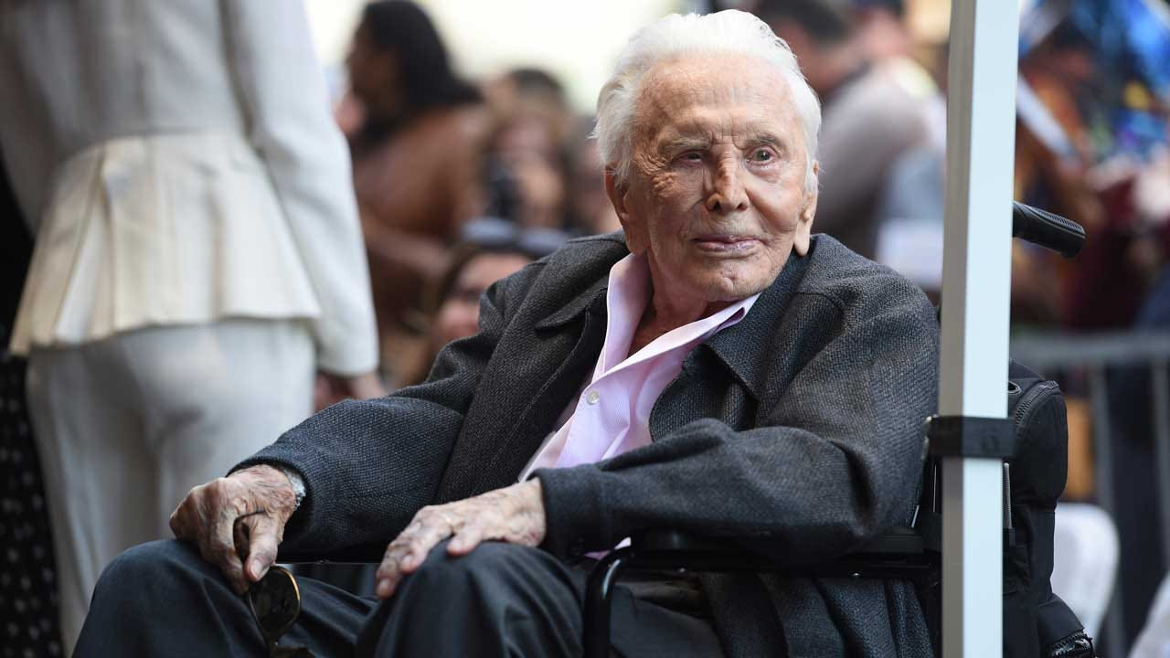 Kirk Douglas, Golden Age Of Hollywood Legend, Dead At 103