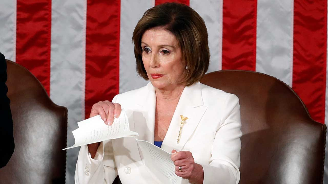 Memes Flood The Internet After Nancy Pelosi Rips Up Trump's State Of The Union Speech